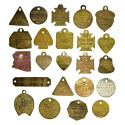 AZ - Tombstone,Cochise - 1911-1931 - Dog Tag Group