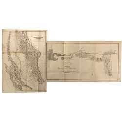 CA - Gold Rush Discovery Maps ~ 1848 Government Report
