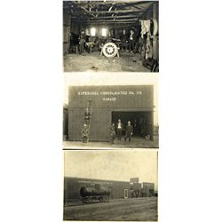 CA - Esperanza,c1915 - Garage of Esperanza Consolidated Oil Co. Photographs