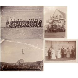 CA - Gibsonville,Sierra County - 1892 - Gibsonville Gold Rush Camp Photograph Group