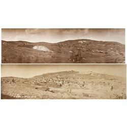 CO - Gilpin County,c1890s - Russell Gulch Panoramic Photographs