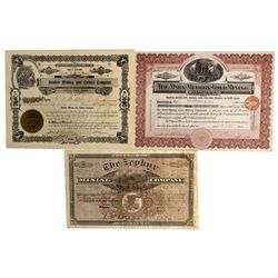 CO - Leadville,Chaffee County - 1881-1909 - Colorado Mining Stock Certificates