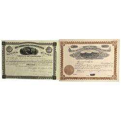 CO - Monarch,Chafee County - c1882 - Monarch Mining District Stock Certificates