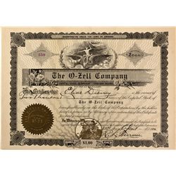IL - Chicago,Cook County - April 22, 1912 - O-Zell Stock Certificate 2
