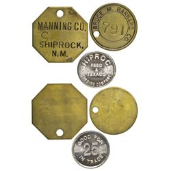 NM - Shiprock,San Juan County - Shiprock Tokens