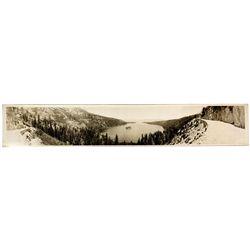 CA - South Lake Tahoe,El Dorado County - c1925 - South Tahoe Panoramic Photo
