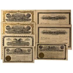 NV - Rawhide,Mineral County - 1908 - Rawhide Stock Certificates