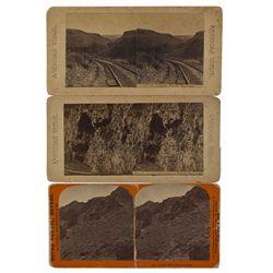 NV - c1870 - Humbolt Nevada Area Stereoviews
