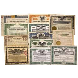 NV - Manufacturing & Auto Stock Certificates Group