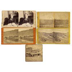 NV - c1870 - Miscellaneous Nevada Stereoviews
