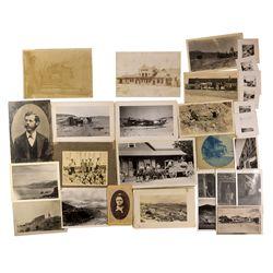 NV - 1878, 1890, 1910, 1917 1930 - Nevada Mining Views Photographs