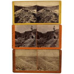 NV - c1869 - Northern Nevada Railroad Stereoviews