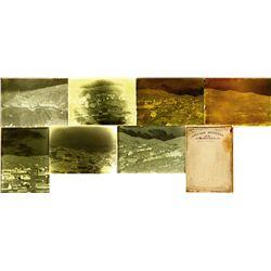 NV - Austin,Lander County - c1900 - Austin Area Negative Glass Plates in Box