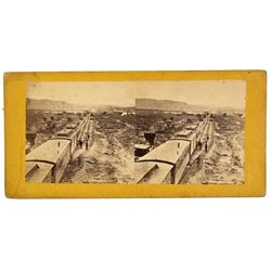 NV - Carlin,Elko County - c1890 - Carlin Stereoview