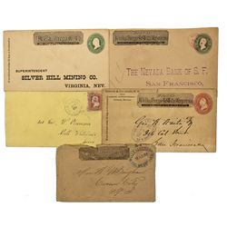 NV - Carson City,Ormsby County - Wells Fargo Postal Cover Group