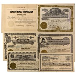 NV - Goodsprings,Clark County - 1908-1929 - Goodsprings Stock Certificates