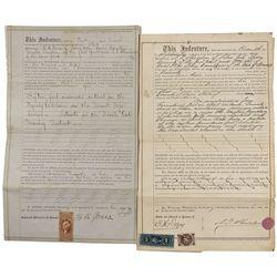 NV - Lyon County,1863; 1866 - Lyon County Mining Deeds