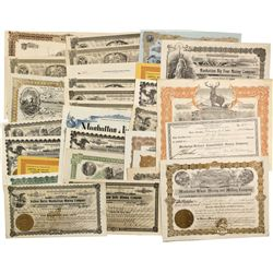 NV - Manhattan,Nye County - 1906-1935 - Manhattan Stock Certificates and Ephemera