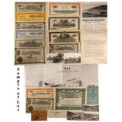 NV - Manhattan,Nye County - c1915 - Rawhide Certificates