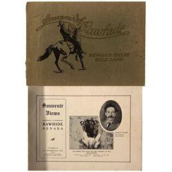NV - Rawhide,Mineral County - 1908 - Rawhide Souvenir Booklet