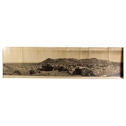 NV - Rhyolite,Nye County - 1907 - Rhyolite Panoramic Photograph