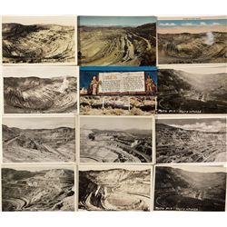 NV - Ruth,White Pine County - Leach Open Pit Copper Mine Post Cards