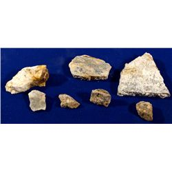 NV - Seven Troughs,Pershing County - Seven Troughs Gold Specimens