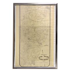 NV - Seven Troughs,Humboldt County - 1909 - Seven Troughs Mining District Map