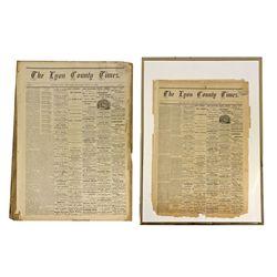NV - Silver City,Lyon County - 1875 - Lyon County Times