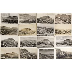 NV - Tonopah,Nye County - 1959 - Birds-Eye View Post Cards