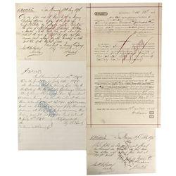 CA - San Francisco,1875-6 - Ralston & Sharon Loan Documents