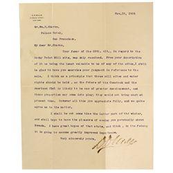 CA - San Francisco,1875-6 - Mills Letter