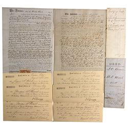 NV - Lyon County,1861-63 - Early Comstock Documents *Territorial*