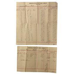 NV - Virginia City,Storey County - 1894 - Union Mill & Mining Assay Reports