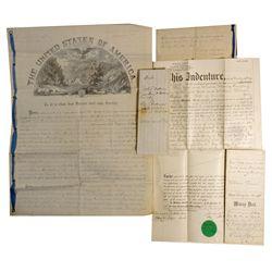 CA - San Francisco,186 - Mining Claim Deeds