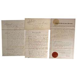 CA - San Francisco,c1877 - 19th Century Promissory Notes