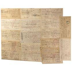 CA - San Francisco,c1875 - 19th Century Promissory Notes