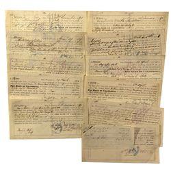 CA - San Francisco,1869-74 - 19th Century Promissory Notes