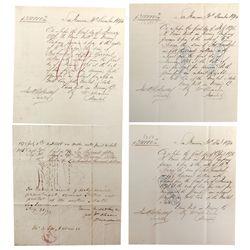 CA - San Francisco,1874 - Sharon Loan Documents