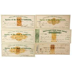 NV - Virginia City,Storey County - Fair, James Signature (Comstock Checks)