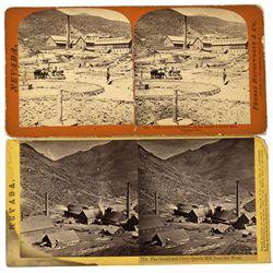 NV - Virginia City,Storey County - c1865 - Virginia City Mining Stereoviews