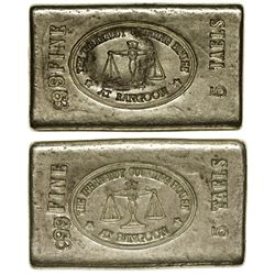 Irrawaddy Counting House Silver Ingots