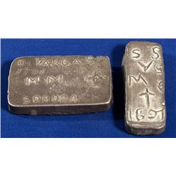 1691 - Father Kino Ingots from Sonora, Mexico
