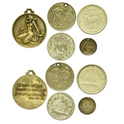 Brothel and Bawdy Tokens