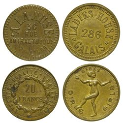 France,French Brothel Tokens