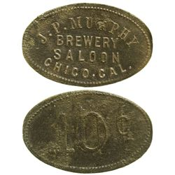 CA - Chico,Butte County - c1895 - Murphy Brewery Saloon