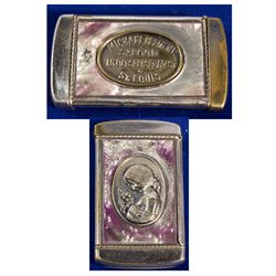 MO - St. Louis,Independent City County - c1900 - Saloon Match Holder