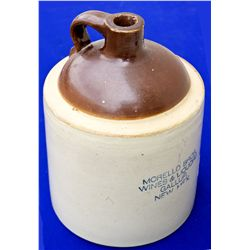 NM - Gallup,McKinley County - Stoneware Whiskey Jug