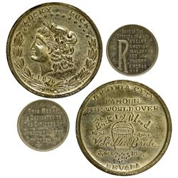 NV - Virginia City,Storey County - Temperance Medals
