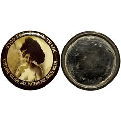 WA - Pasco,c1908 - Keystone Saloon Good For Mirror